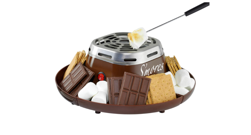 Have a s'mores party at home