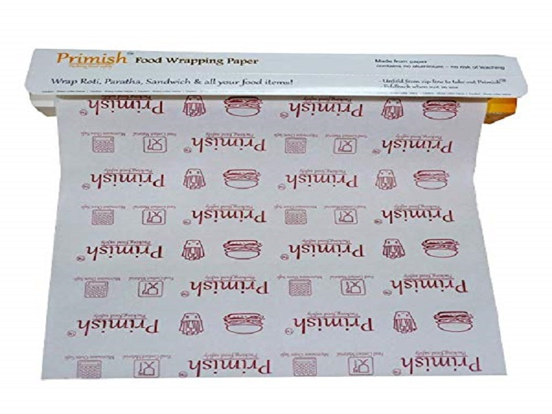 Primish Food Wrapping Paper 20 Meter roll Wraps eco-Friendly Sustainable Food Storage Wraps