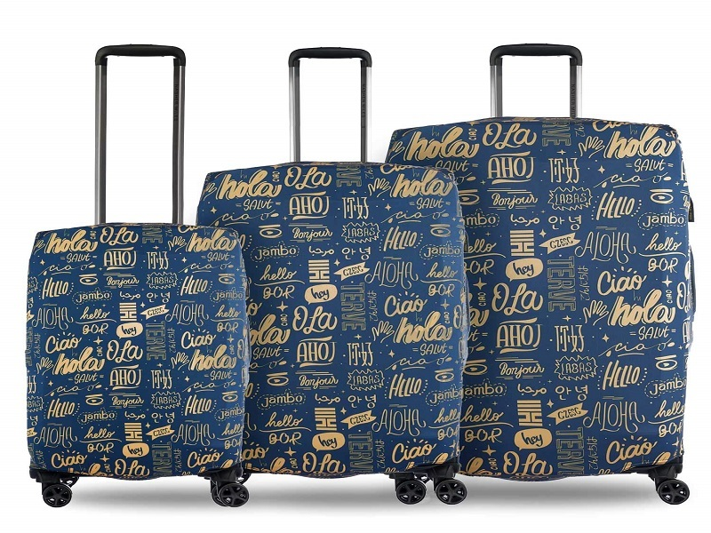 Nasher Miles Eco Friendly Polyester Protective Luggage Cover