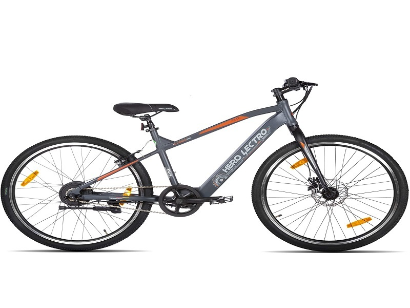 Hero Lectro Clix 26T SS Single Speed Electric Cycle
