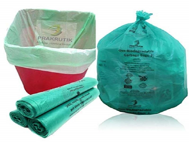PRAKRUTIK Garbage Bags Biodegradable