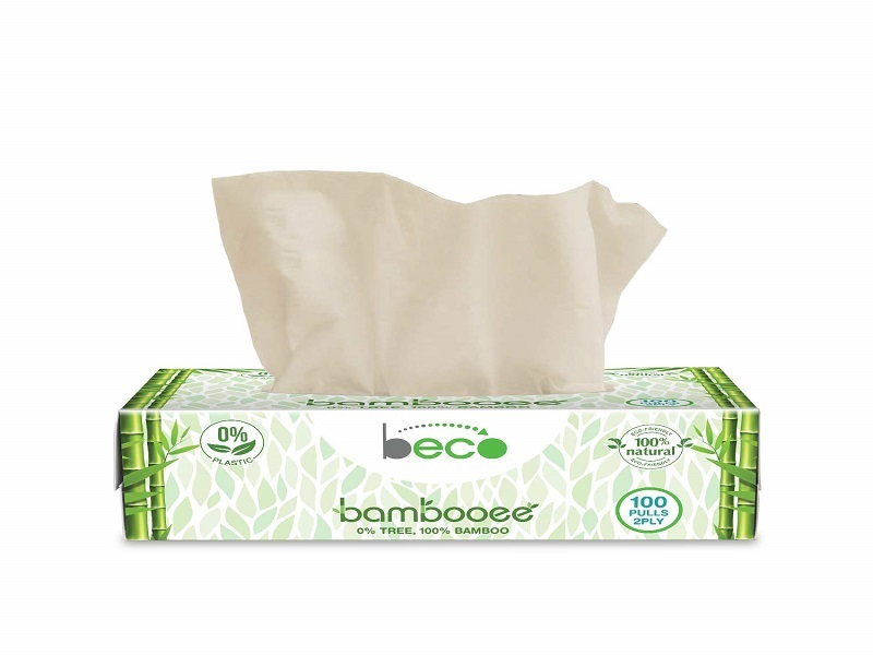 Eco Friendly Brand - Beco! Bambooee Natural Facial Tissue Carbox