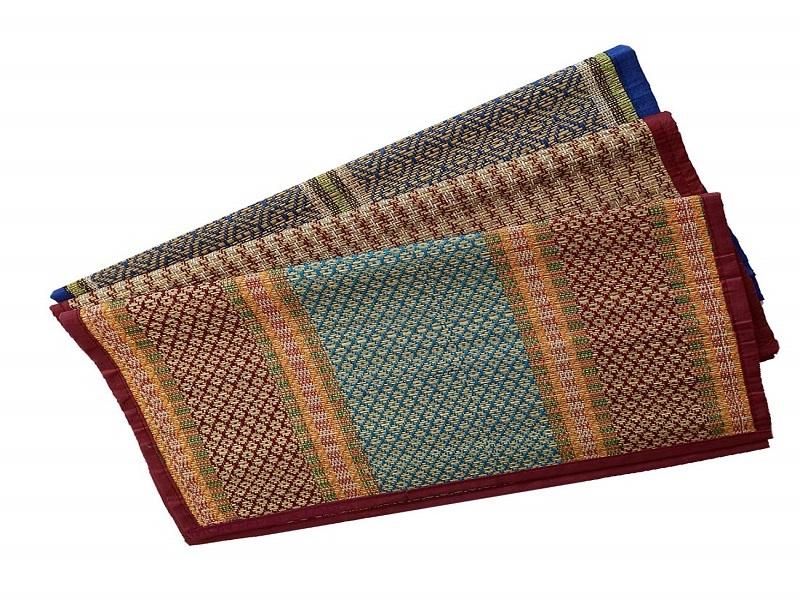 Montelal Store Handmade Organic Eco-Friendly Portable River Grass Mat Chatai Assan for Pooja