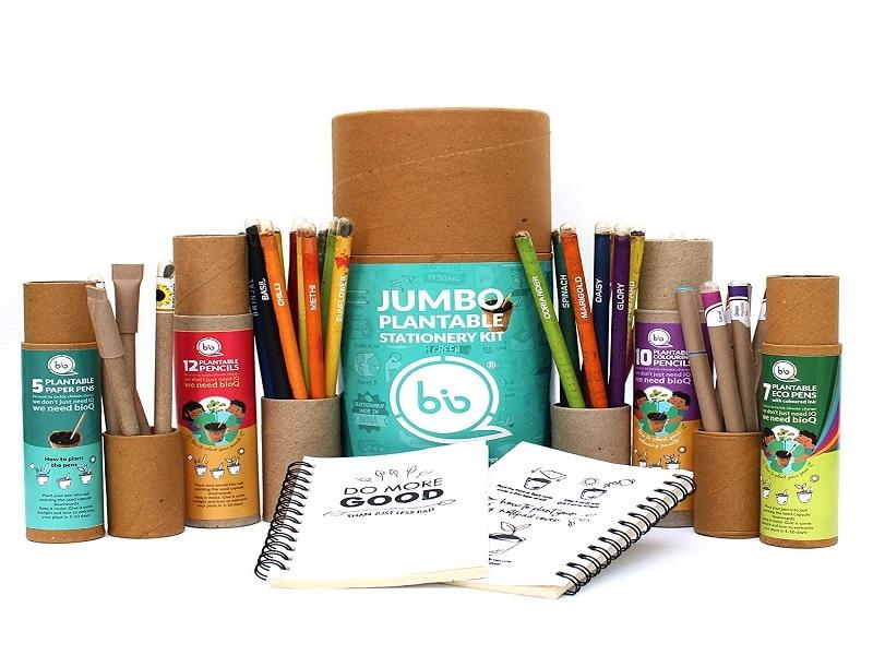 bioQ Jumbo Eco Friendly Plantable Stationery Gift Box