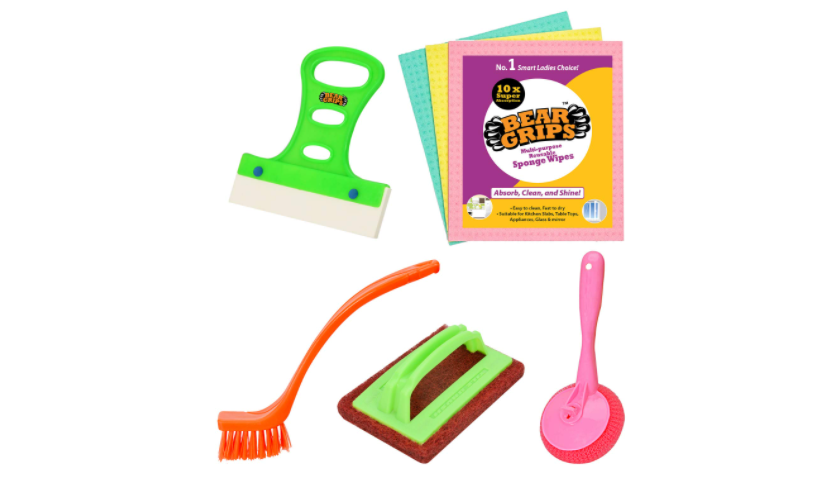 Set of 7 cleaning tools