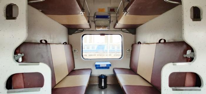 Tejas Sleeper train interior