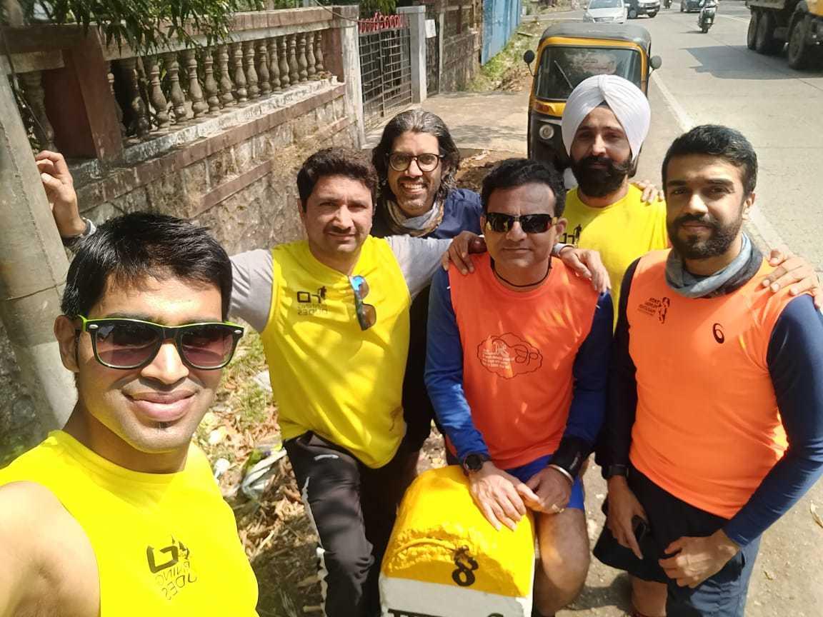Pic 2- L to R- Rohit Shetty, Kanu Dhakhada, Murlikrishnan Pillai,Sushil Sharma, Satnam Singh, Harshvardhan Kheny