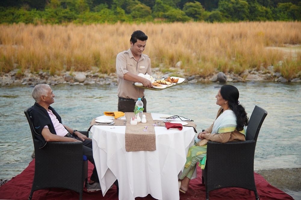 Meal by Kosi River Corbett
