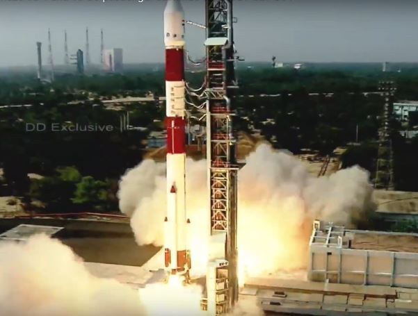 PSLV-C51/Amazonia 1 launch: Isro places Brazilian satellite in orbit |  India News - Times of India