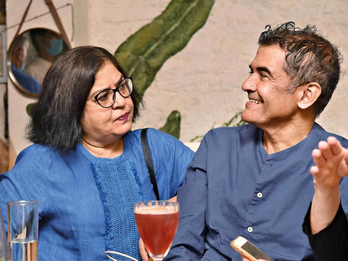 Sushma Puri and AD Singh