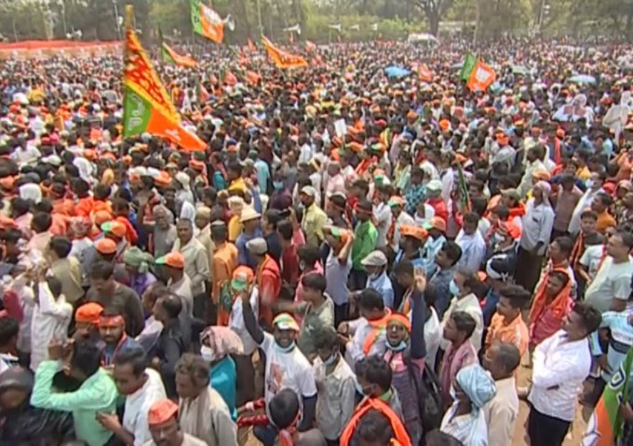 BJP rally in bengal march 20 635