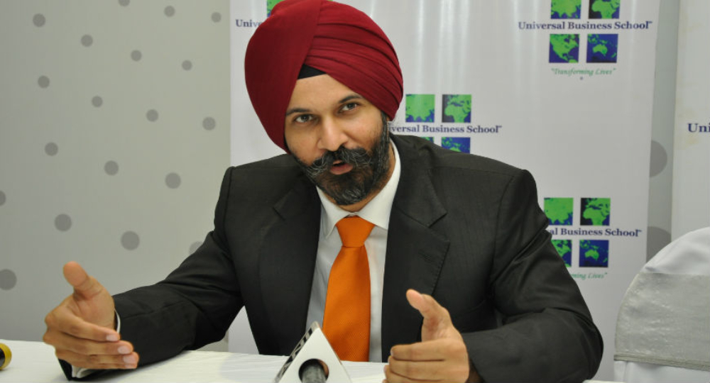 Tarun Anand, Founder and Chairman, Universal Business School