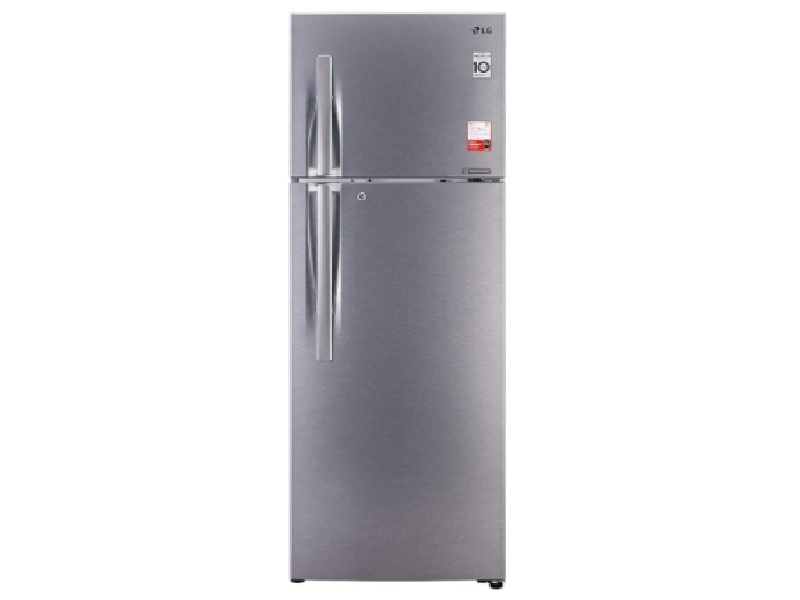 LG 335 L 3 Star Inverter Frost-Free Double Door Refrigerator