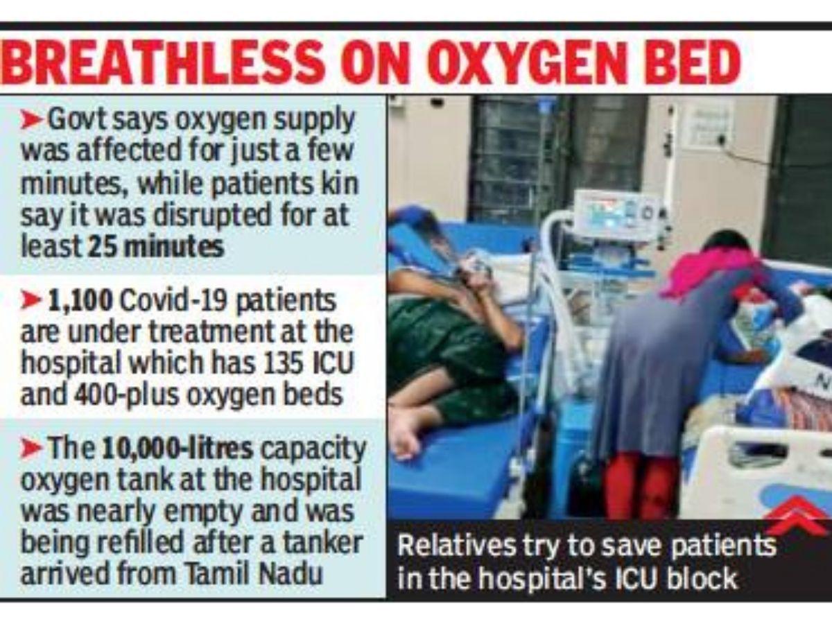 Tirupati oxygen beds