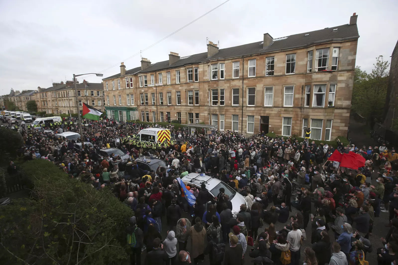 Britain Immigration Protest