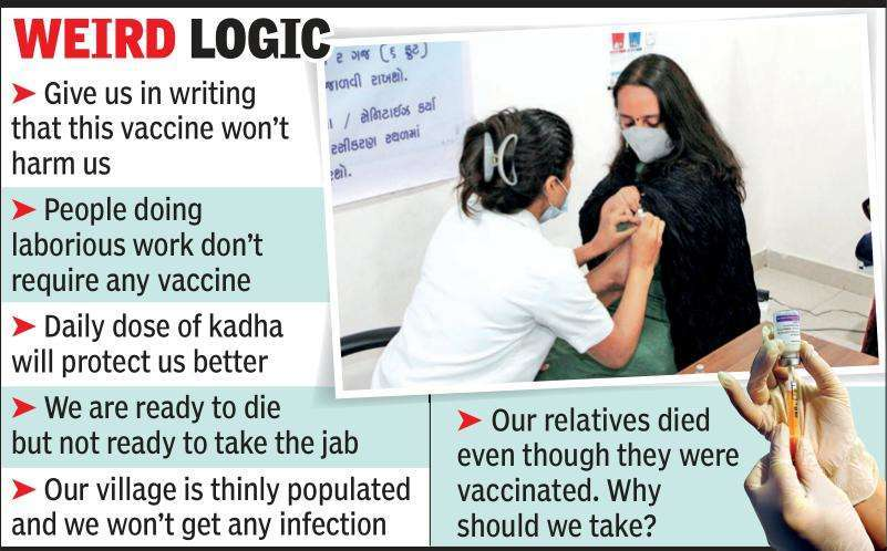 Myths bust vaccination drive in Rajkot