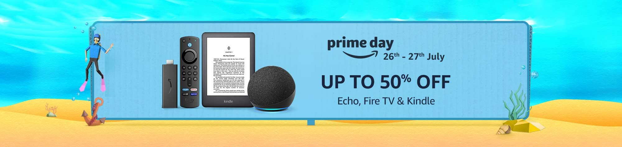 Amazon Offers On Echo, Fire TV, Kindle And More