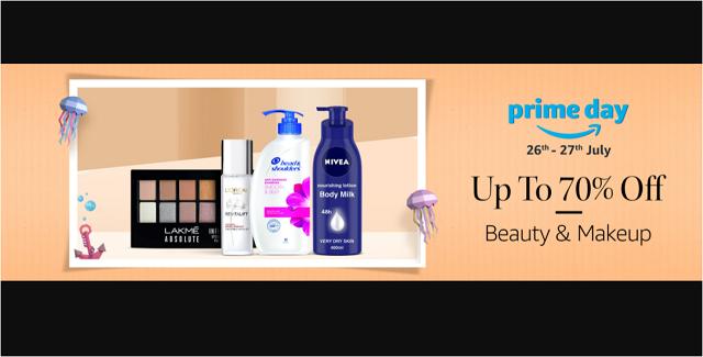 Amazon prime day beauty sale