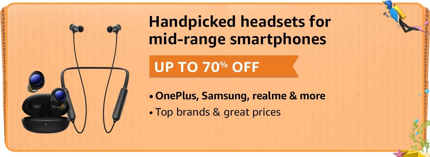 Bluetooth Headphones At Up to 70% Off