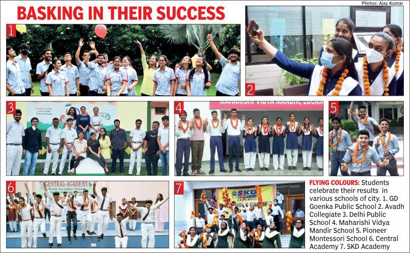 Pandemic fears can't shackle CBSE toppers from giving wing to dreams