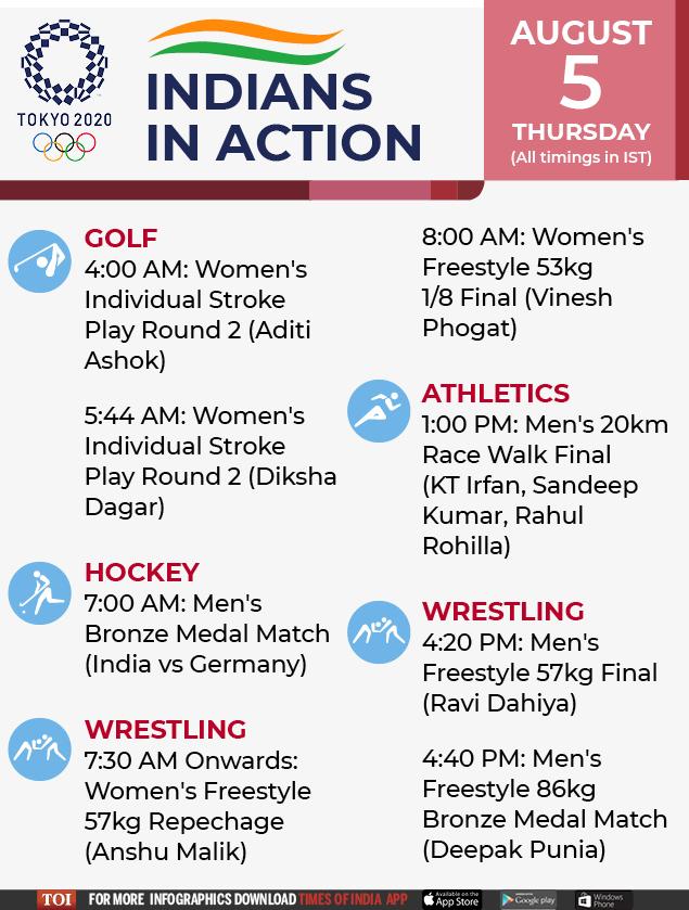 Tokyo Olympics-Schedule Template