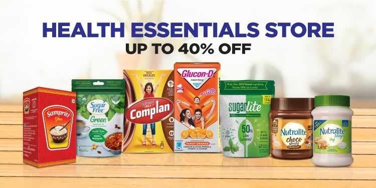 Health Essentials on Amazon Pantry