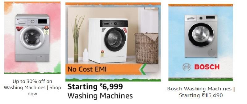 Best Deals On Washing Machines