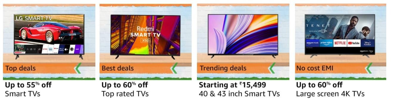Best Deals On Smart TVs