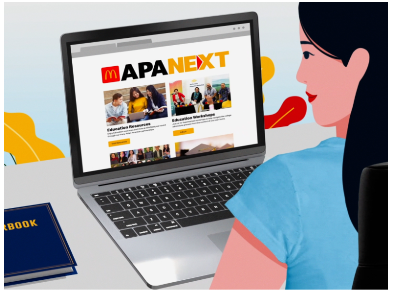 """McDonald's """"APA Next"""" is designed to assist Asian-American students achieve their educational goals"""