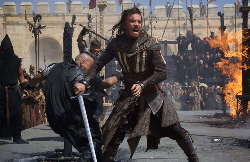 Assassin S Creed Movie Showtimes Review Songs Trailer Posters