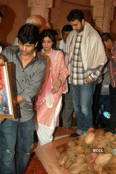 Shilpa, Raj Kundra @ 'Andheri Ka Raja'