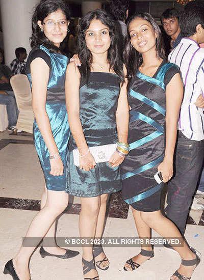 G H Raisoni College's freshers party