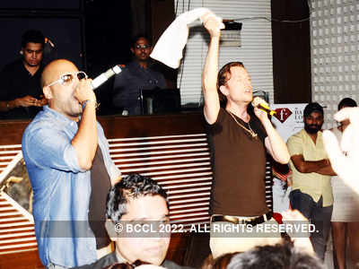 Bombay Rockers performs live