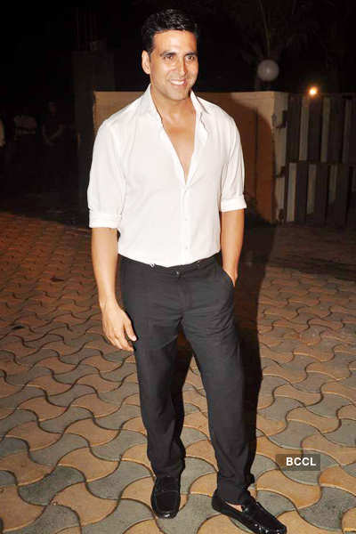Akshay Kumar's bash for 'Speedy Singhs'