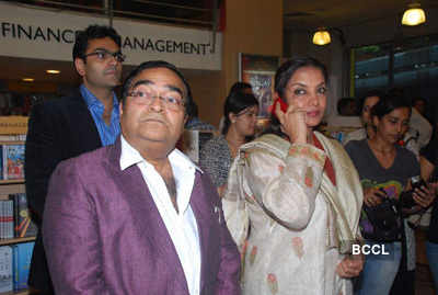 Shabana Azmi at Mukesh's book launch