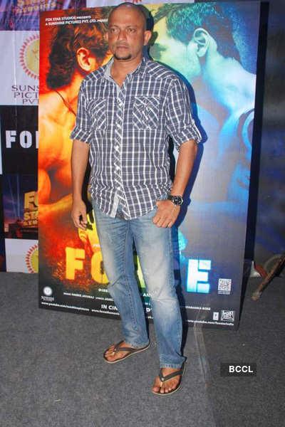 Vidyut Jamwal at a stunt session