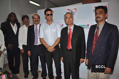Akki @ 'Asian Heart Institute' launch
