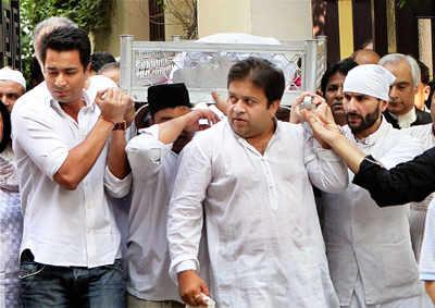 MAK Pataudi's funeral
