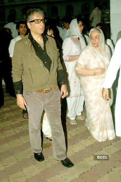 Surinder Kapoor's prayer meet