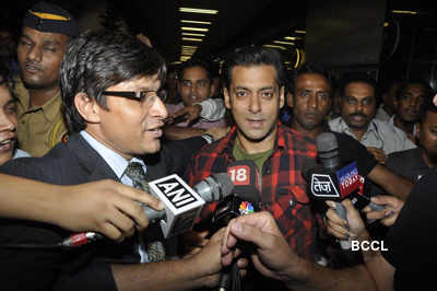 Salman returns after US surgery