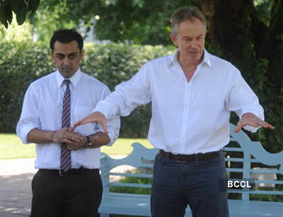 Tony Blair, Rohan Gavaskar @ Malaria awareness campaign
