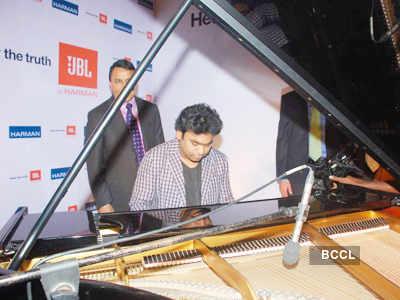 Rahman @ 'JBL-Hear The Truth' campaign