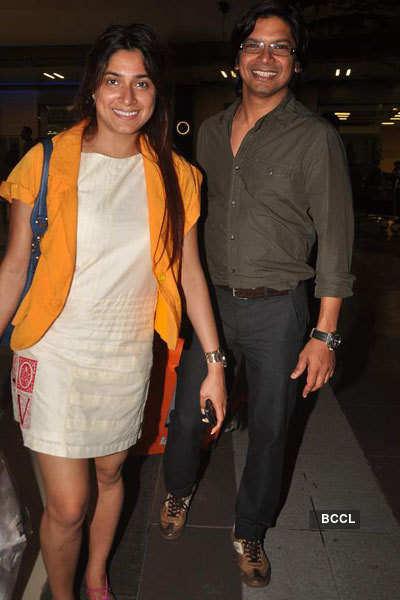 Salman, Katrina spotted at airport