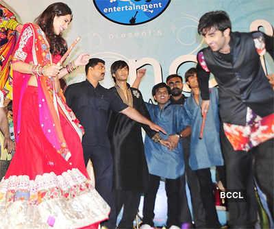 Ranbir, Nargis at garba event