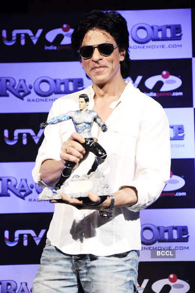 SRK @ 'Ra.One' game launch