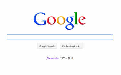 Online tribute to Steve Jobs