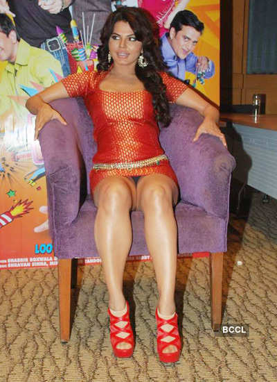 Rakhi Sawant at 'Loot' press meet