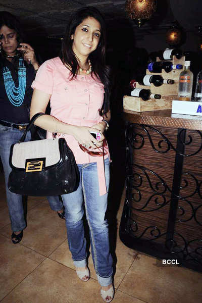 Anu Ranjan's b'day bash