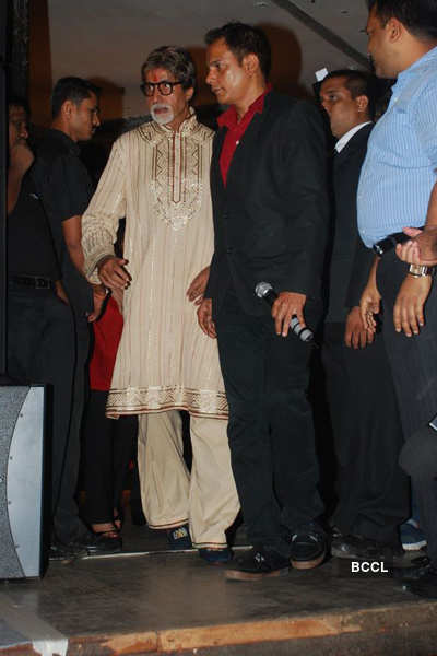 Big B's b'day celebration
