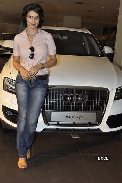 Gul at Audi Q5 handover event